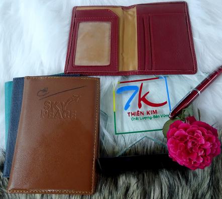Sản xuất bóp ví, ví đựng namecard, ví đựng passport